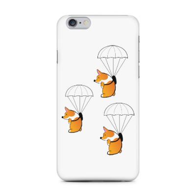 Чехол для iPhone 6 Plus смешные собаки корги