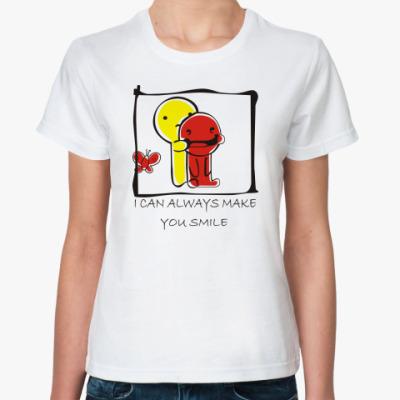 Классическая футболка I can always