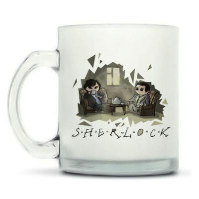 Кружка матовая Sherlock
