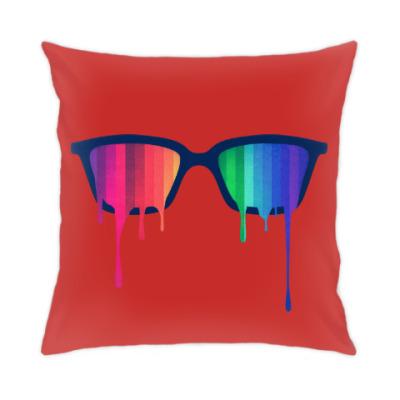 Подушка Хипстер: очки