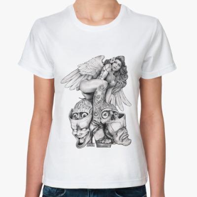 Классическая футболка Desperate Angel
