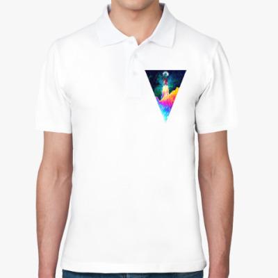Рубашка поло Запуск космического корабля