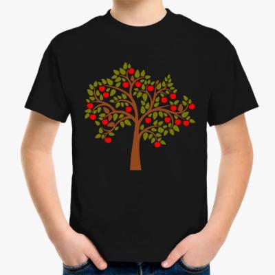 Детская футболка Яблоня