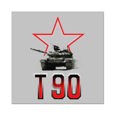 Наклейка (стикер) Танк Т-90