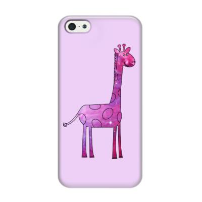 Чехол для iPhone 5/5s Космический Жираф