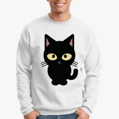 Свитшот Черный Котик