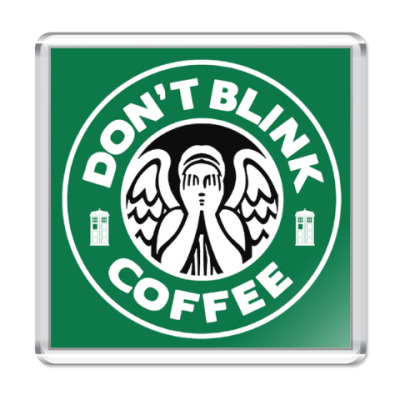 Don't blink coffee DOCTOR WHO