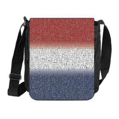 Сумка на плечо (мини-планшет) Флаг Нидерландов