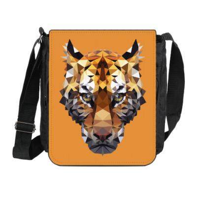 Сумка на плечо (мини-планшет) Тигр / Tiger