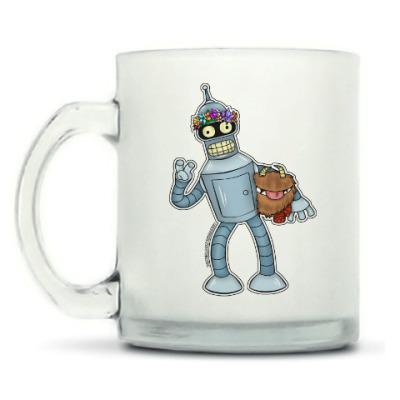 """Кружка матовая Кружка матовая """"Bender DST"""""""