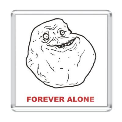 Магнит Forever alone
