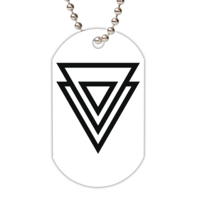 Жетон dog-tag Double Triangle