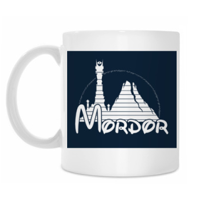 Кружка Mordor The lord of the ring