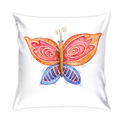 Акварельная бабочка