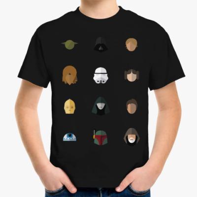 Детская футболка Персонажи Звездных Войн