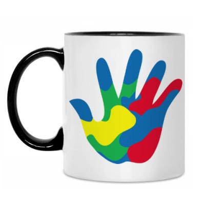 Кружка Отпечаток Руки