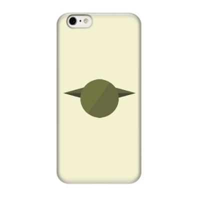 Чехол для iPhone 6/6s Магистр Йода (Yoda) минимализм
