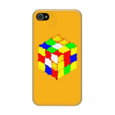 Чехол для iPhone 4/4s Кубик Рубика