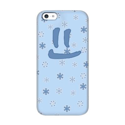 Чехол для iPhone 5c Снежная улыбка