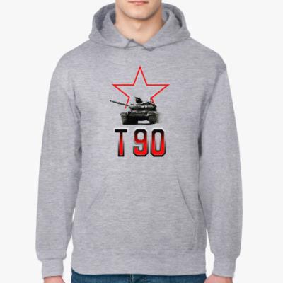 Толстовка худи Танк Т-90