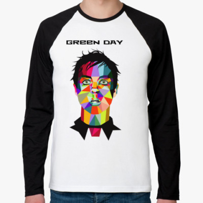 Футболка реглан с длинным рукавом Green Day