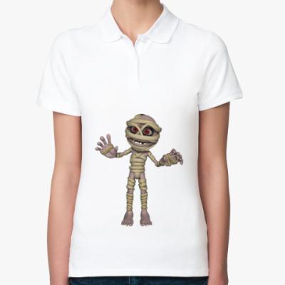 Женская рубашка поло Мумия