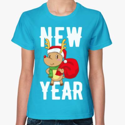 Женская футболка NEW YEAR