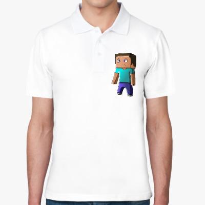 Рубашка поло Minecraft Steve