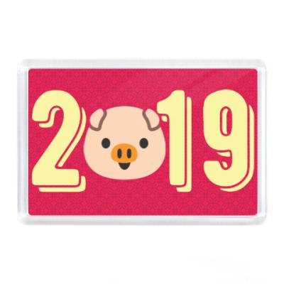 Магнит PIGGY 2019