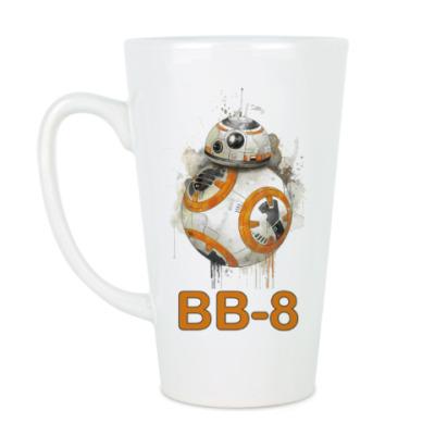 Чашка Латте Со звездными войнами: Star Wars BB-8 Droid