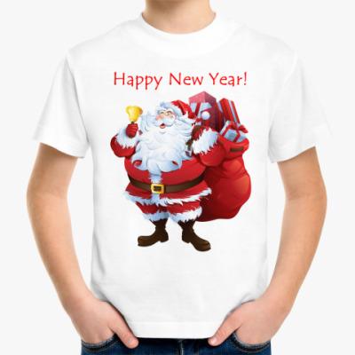 Детская футболка С Новым годом!!!