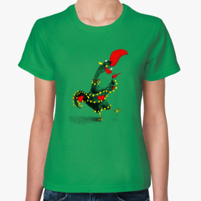 Женская футболка Португальский петух Барселуш