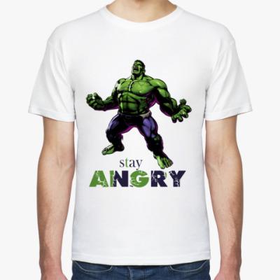 Футболка Stay Angry