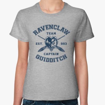 Женская футболка Ravenclaw Quidditch Team
