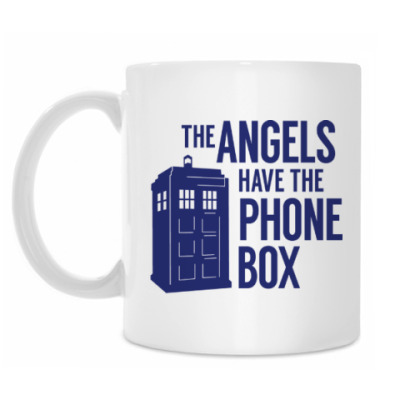 Кружка The Angels Have The Phone Box