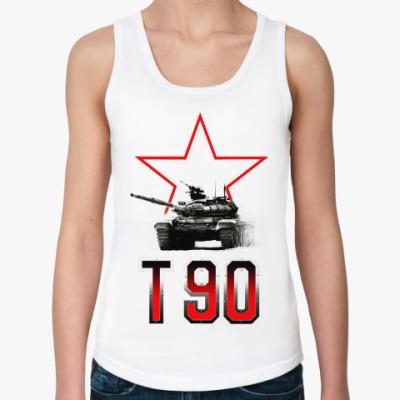 Женская майка Танк Т-90