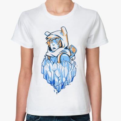 Классическая футболка Hero and BMO