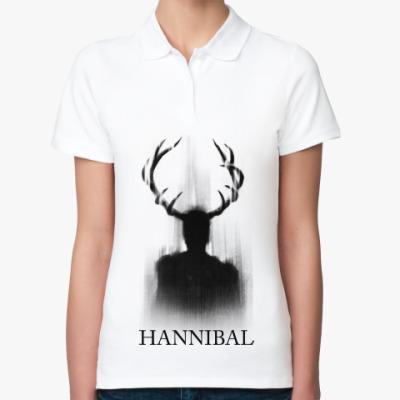 Женская рубашка поло Hannibal