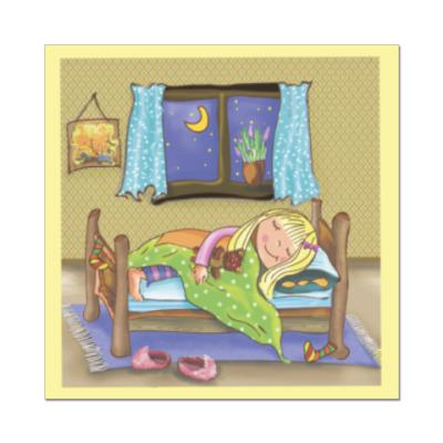 Наклейка (стикер) Сон