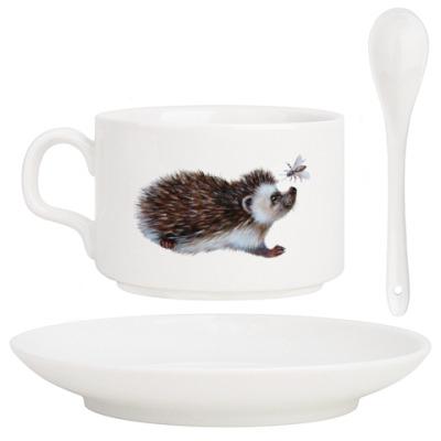 Кофейный набор Ежик Кофейное зернышко
