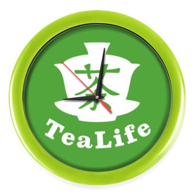 Настенные часы для любителей чая