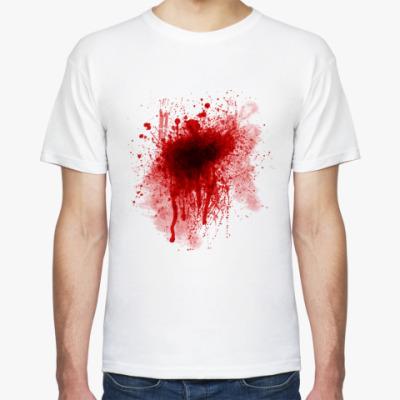 Футболка Кровь