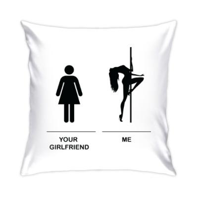 Подушка I am pole dancer