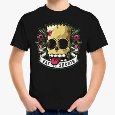 Детская футболка Барт Симпсон