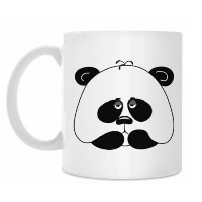 Кружка Грустная панда