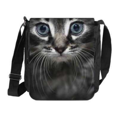 Сумка на плечо (мини-планшет)  котик