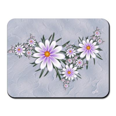 Коврик для мыши Нежные цветы