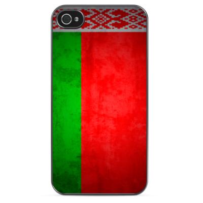 Чехол для iPhone Флаг Республики Беларусь