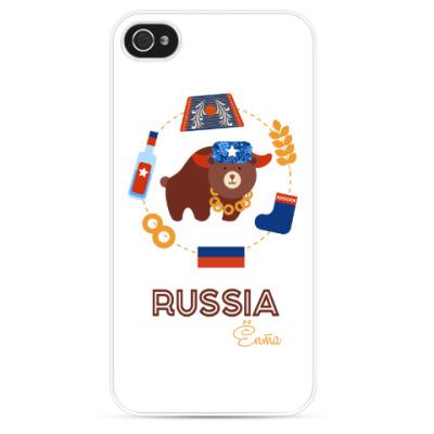 Чехол для iPhone Russia, Ёпта