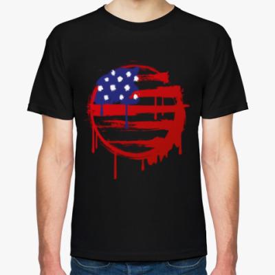 Футболка Американский флаг